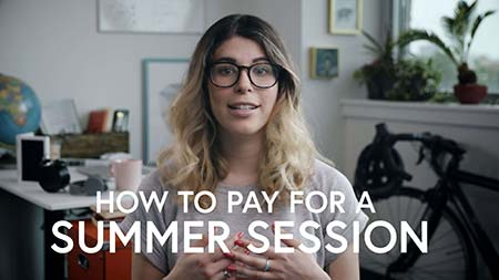 How to Pay for Summer Session - Decoration Only.