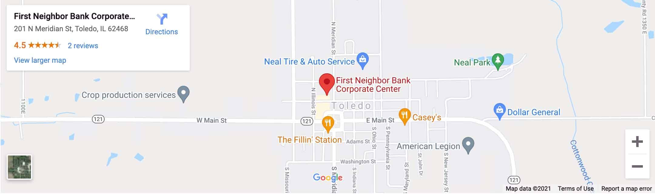 Decorative - FNB Corporate Center Google Map Image